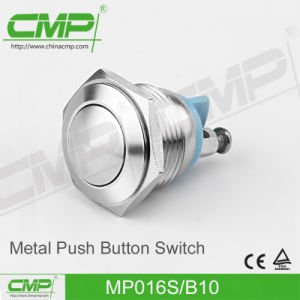 CMP 16mm Ball Head Push Button Switch (MP016S/BJ) pictures & photos