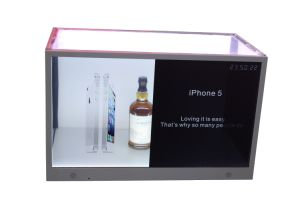 Stock Products Status 32-Inch Transparent LCD Display Box with TFT LCD Screen pictures & photos
