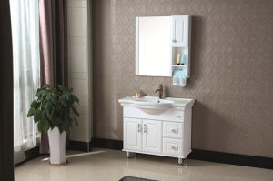 Modern Style Solid Wood Bathroom Cabinet