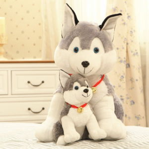 Custom Cute Stuffed Animal Plush Huskey for Wholesale pictures & photos