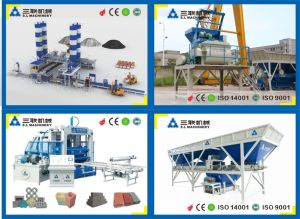 Automatic Concrete Brick and Block Making Machine