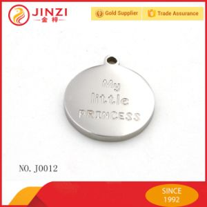 Factory Design Customize Zinc Alloy Laser Logo Baggage Dog Tag pictures & photos