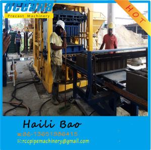 Concrete Interlock Block Brick Making Machine