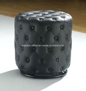 Leather Stool Hotel Leisure Footrest Sofa
