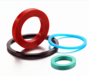 NBR Food Grade Waterproof Soft Flat Filter Pipe Seal Silicone Rubber Gasket pictures & photos