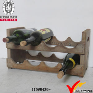 Vintage Display Shelf Wine Rack Wall Hanging pictures & photos