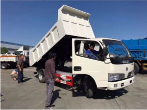 Dongfeng LHD 4X4 Small 3ton 5ton for Sale Tipper pictures & photos