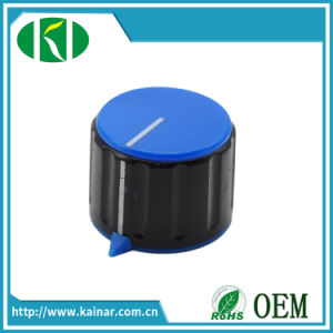 Colored Plastic Potentiometer Knob 6.35mm 6mm Knd1