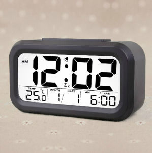Smart Night Light LCD Electriconic Alarm Clock pictures & photos