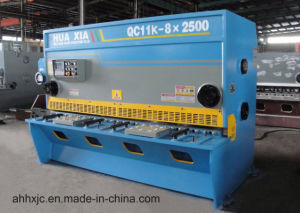 Huaxia QC11k New Special CNC Guillotine Shearing Cutting Machine pictures & photos