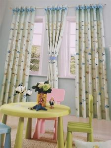 2016 Morden Polyester Texile Window Curtain Fabric EDM4870