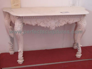 Garden Stone Marble Table for Antique Decoration (QTB037) pictures & photos