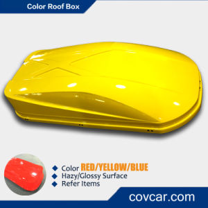 Large Volume Cargo Rooftop Case Car Roof Box with Colors