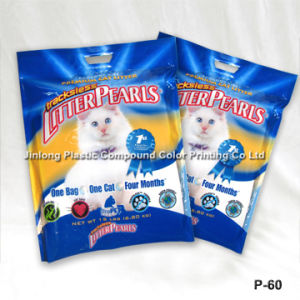 Three-Side Sealed Cat Litter Bag pictures & photos