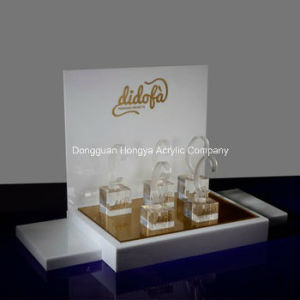 High Quality 5mm White Acrylic Watch Display Stand