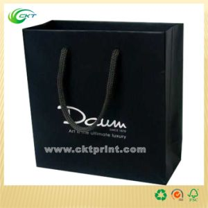 Logo Printing Recycle Paper Bags Wholesale (CKT-PB-377)