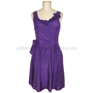 Ladies Silk and Cotton Dress