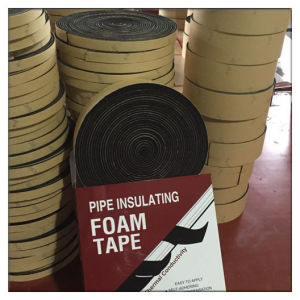 Nitrile Foam/Cr Foam Tape with Adhesive for HVAC pictures & photos