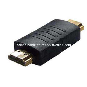Gold Plated Female to Female Plug Adapter pictures & photos