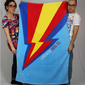 Cheap Promotional Beach Towel From China Factory (DPF10101) pictures & photos