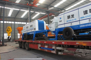 Hbt80b-16-110s Concrete Pump, China Trailer Concrete Pump pictures & photos
