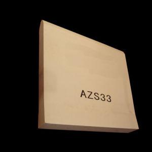 Fused Cast Brick (AZS33)