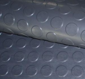 Round Stud Rubber Flooring Roll / Rubber sheet