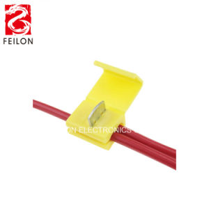 FL-878201 Factory Directly Sale Terminal Block Yellow Color 4-6 Square on harley handlebar wire clips, wire rope clips, types wire clips, plastic clips, latching wire clips, framing clips, insulation clips, conduit clips, automotive clips, spring clip,