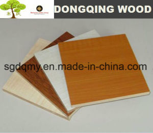 18mm White Melamine MDF Board for Furniture Materials