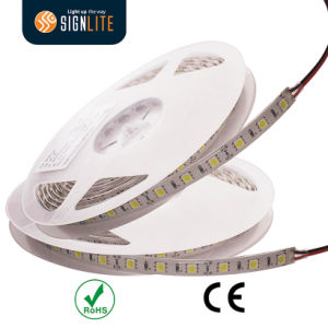 Factory 60LEDs IP66 Parylene Coating Waterproof Warm White SMD5050 LED Flexible Strip Light pictures & photos