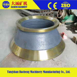 China Manufacturer High Manganese Cone Crusher Parts pictures & photos