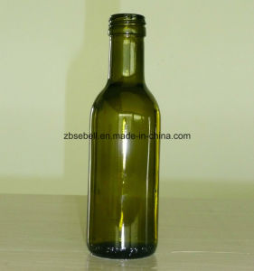250ml Glass Olive Oil Bottle in Green pictures & photos