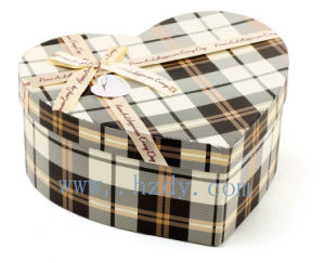 Heart Shapr Paper Gift Box (DY-L-127)