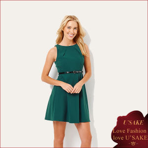 Top Quality Plus Size Green China Formal Dress (S303003)