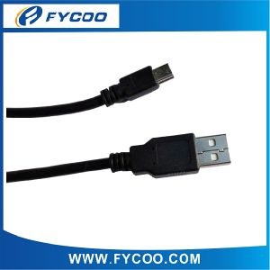 USB Am to USB Mini 5pin Cable USB 2.0 Cable PVC Molding