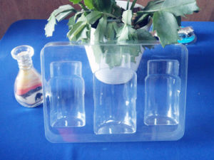 Clear Pet Blister Tray for Perfume Pet Blister Tray for Perfume Set pictures & photos