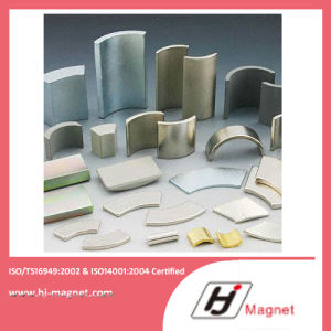 Super Strong N35 Permanent C-Type Segment Motor NdFeB Magnets