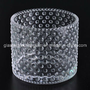 Transparent Glass Candle Holder (ZT-047) pictures & photos