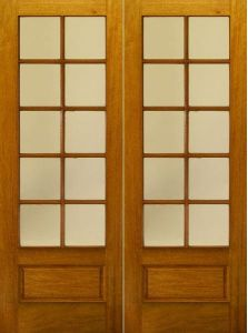 Mahogany Exterior China Solid Wood Doors pictures & photos