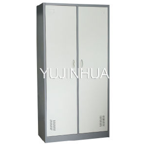 Two Compartment Metal Locker, 2 Door Steel Locker