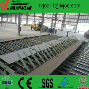 Building Gypsum Plaster Wall Panel Production Line From China pictures & photos