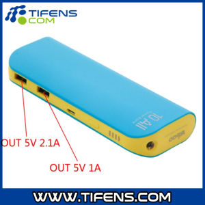 10000mAh 5V Mobile Power Supply Blue