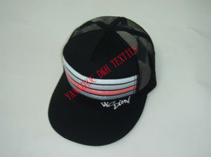 Promotional Cotton with Mesh Snapback Caps Dh-Lh7688