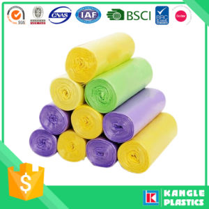 Low Density Polyethylene Biodegradable Rubbish Bag on Roll pictures & photos