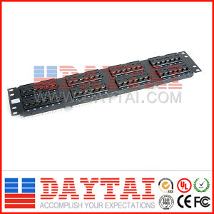 Cat5e 48 Ports Fiber Optic Patch Panel