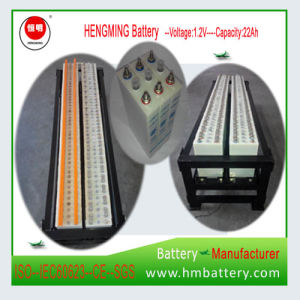 24V 12V 48V Kpx20 Sintered Plate Ni-CD 100% Deep Cycle Battery pictures & photos