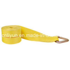 4′′ Cargo Control Winch Strap / Cargo Tie Down with Delta Ring