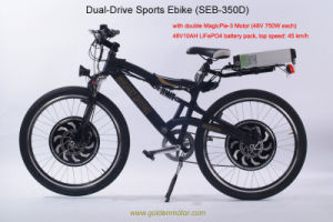 Aluminum Alloy Hubs Electric Bike with CE (SEB-350D) pictures & photos