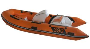 12.8FT3.9m Inflatable Rib Boat, Sport Motor Boat, Fishing Boat Rib390c with Ce Cert. pictures & photos