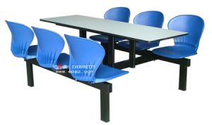 High Quality Restaurant Table and Chairs Plastic Dining Room Chairs pictures & photos